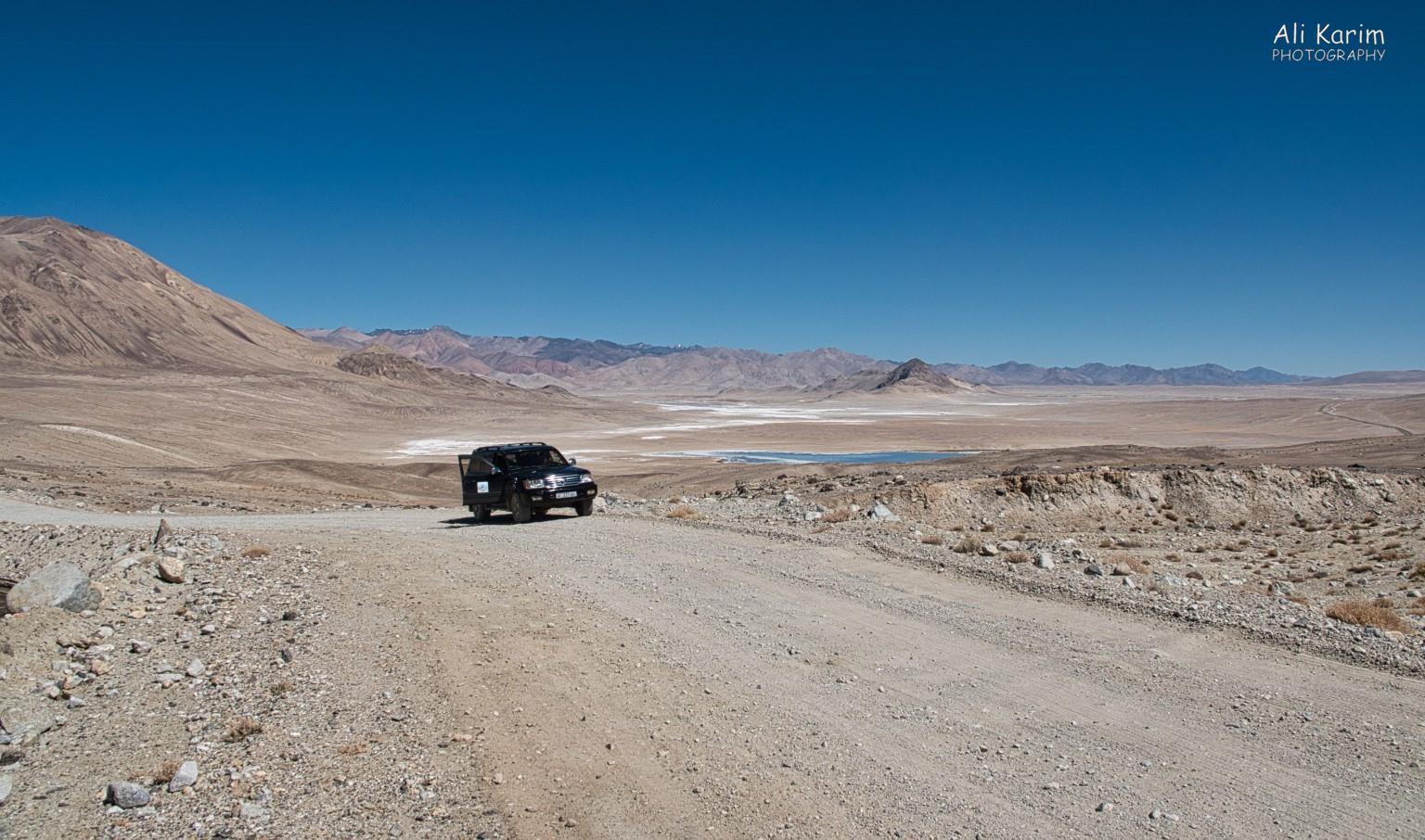 Langar, Tajikistan, Vast desert high altitude plain
