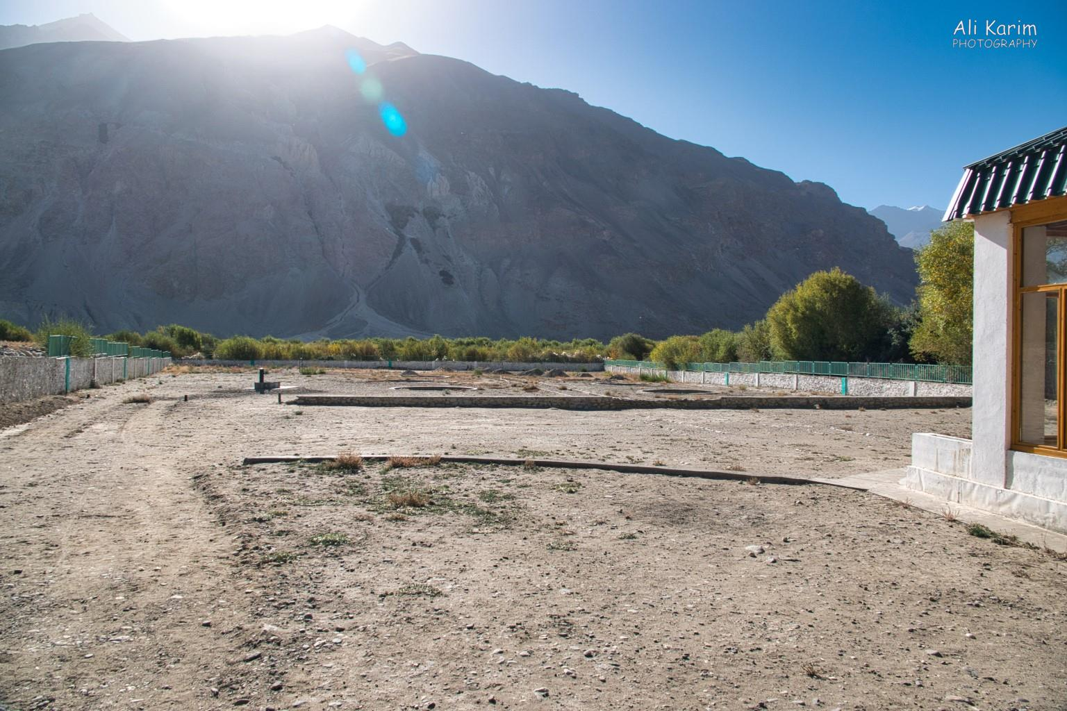 Langar, Bulunkul Tajikistan, Field where the faithful had gathered in Langar to have an audience with the Aga Khan in May 1995