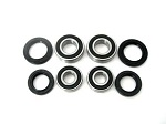 Both Front Wheel Bearings and Seals Kit Honda TRX450R 2004-2009