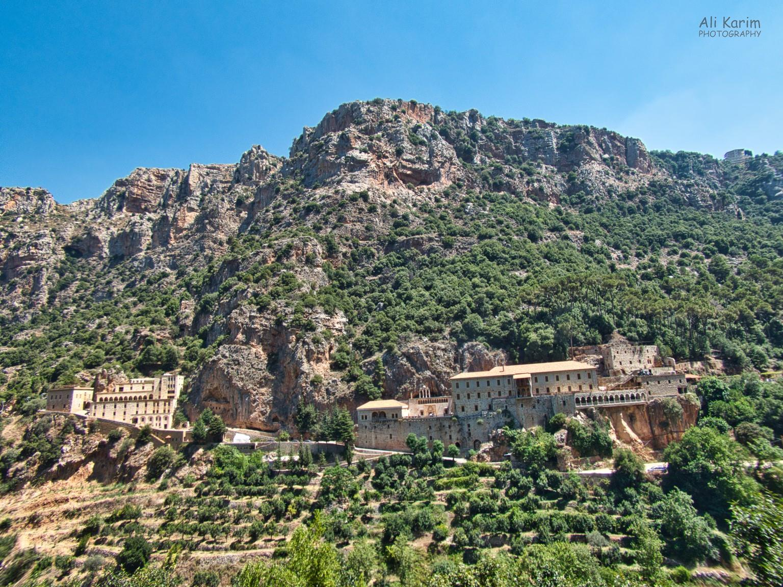 Bsharri and Quadisha Valley Der Mar Antonios Qozhaya monastery in a remote location