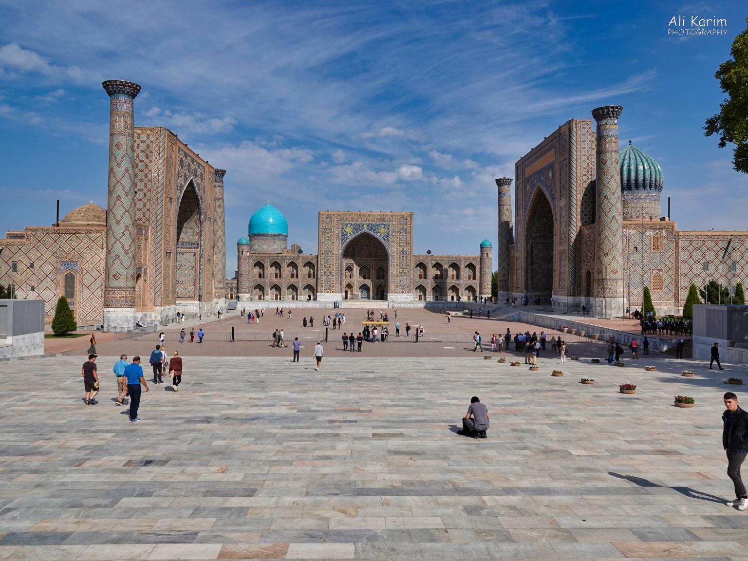 More Samarkand, The Magnificent Registan in the center of Samarkand