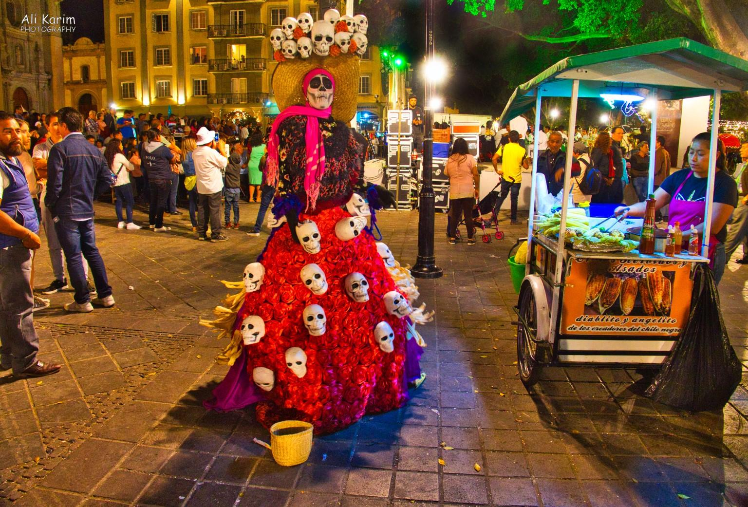 Oaxaca, Mexico Celebrating the deceased?