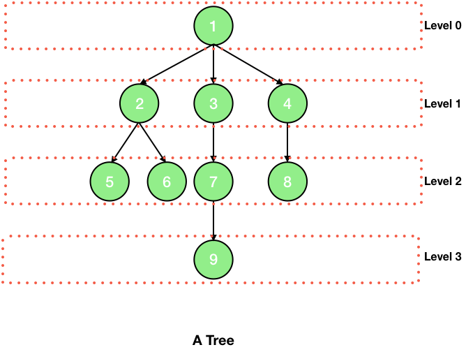 levels in tree