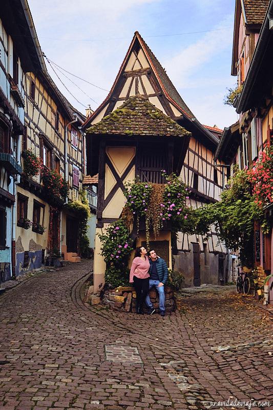 Eguisheim Alsacia