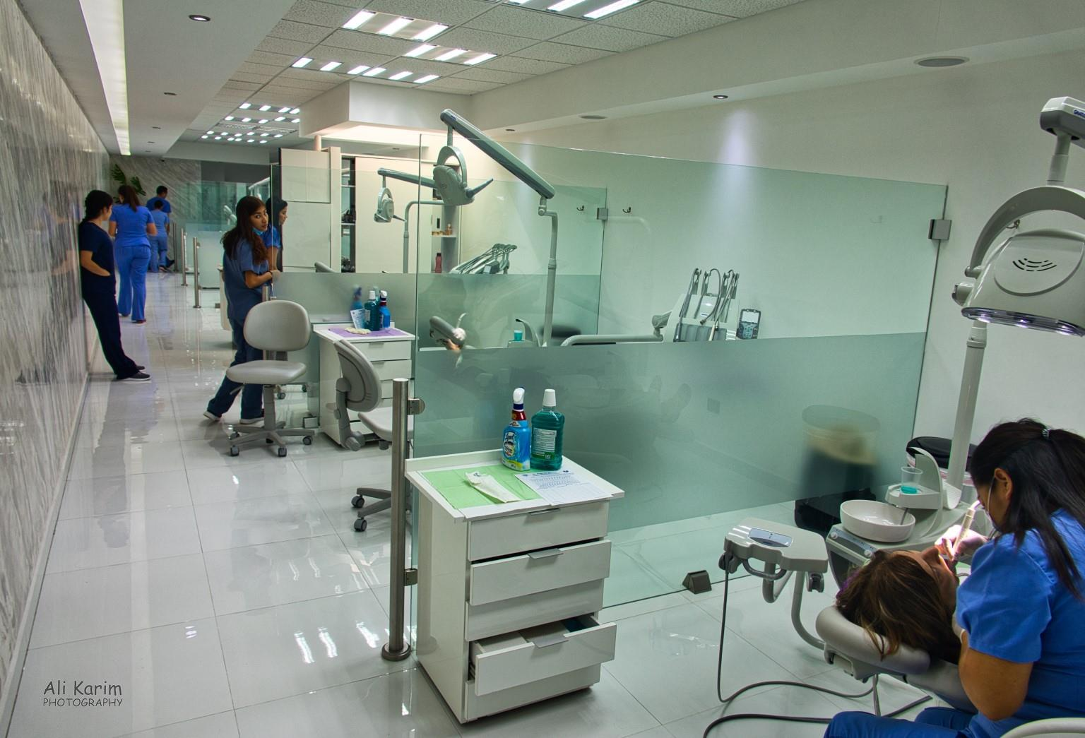 Dental Refugee, Nuevo Progresso, Mexico Inside the dental office; modern, clean and immaculate