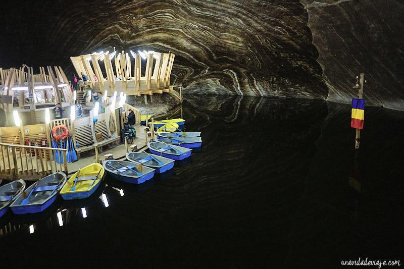 mina de sal rumanía salina turda