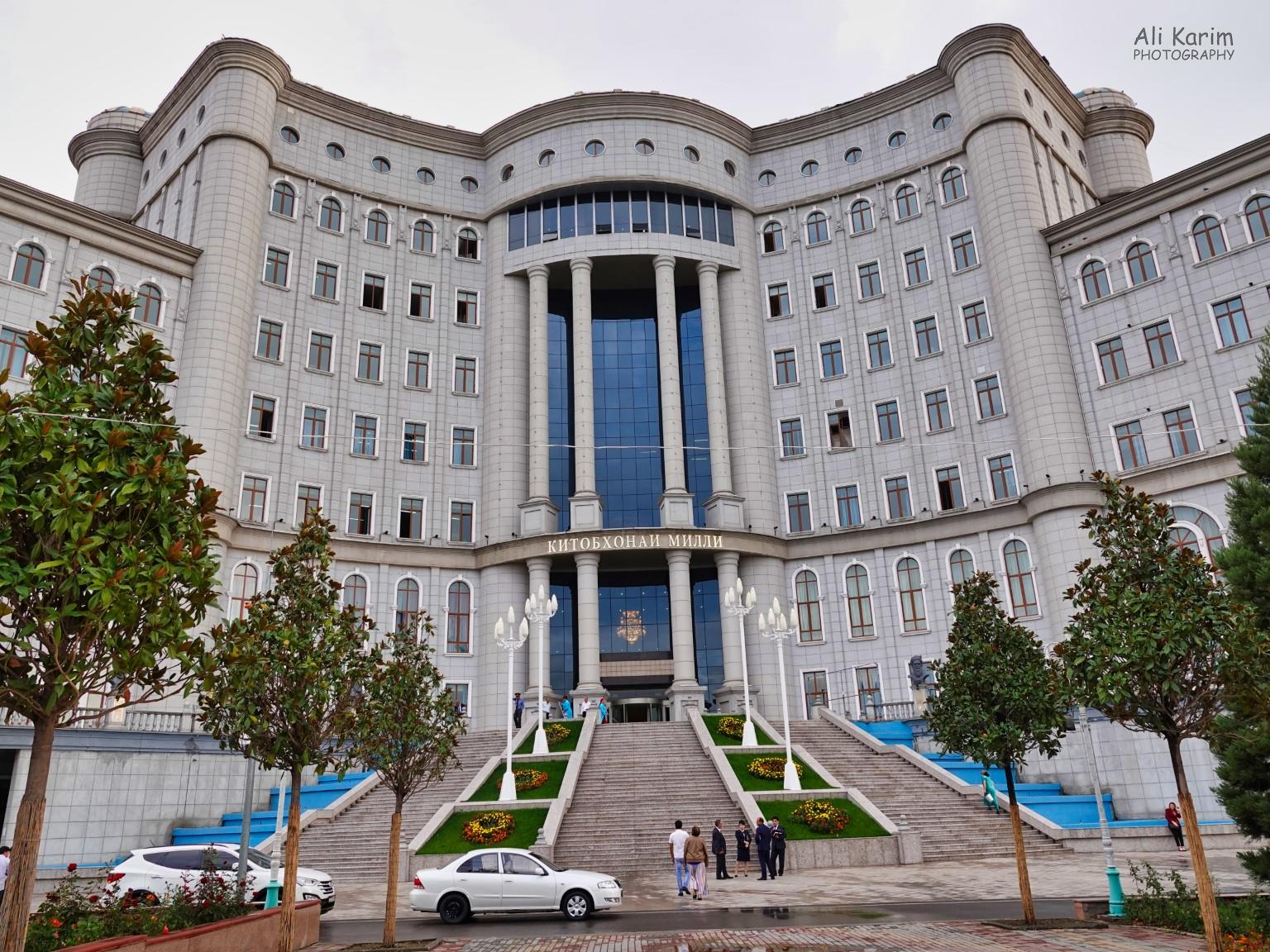 More Dushanbe, Tajikistan Majestic National Library
