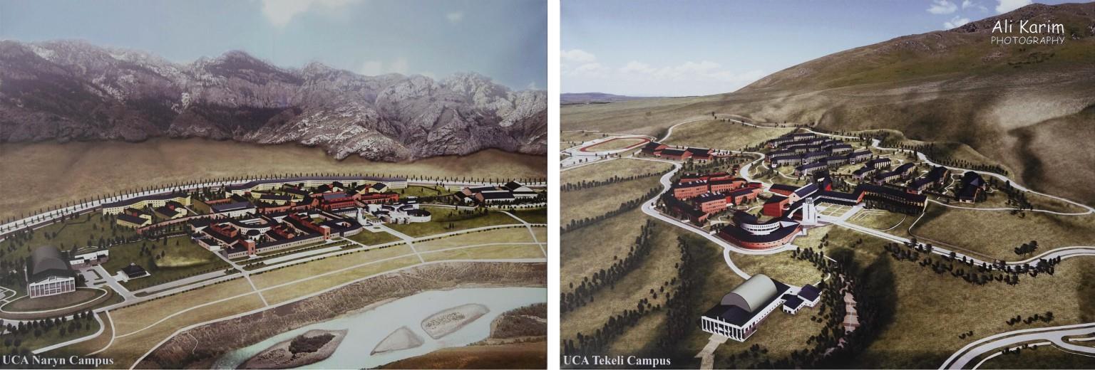 More Khorog, Tajikistan UCA Naryn (Kyrgyzstan) and UCA Tekeli, Kazakstan, renderings