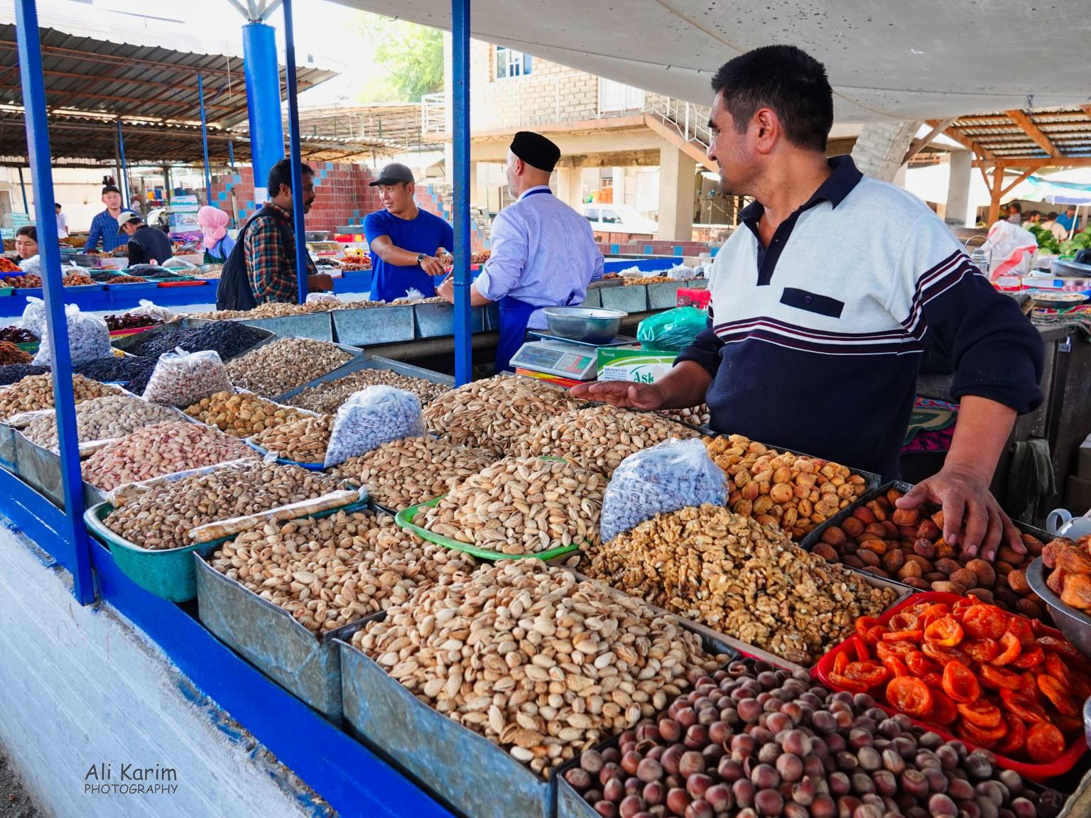 Silk Road 15: Osh, Kyrgyzstan Nuts and dried fruits
