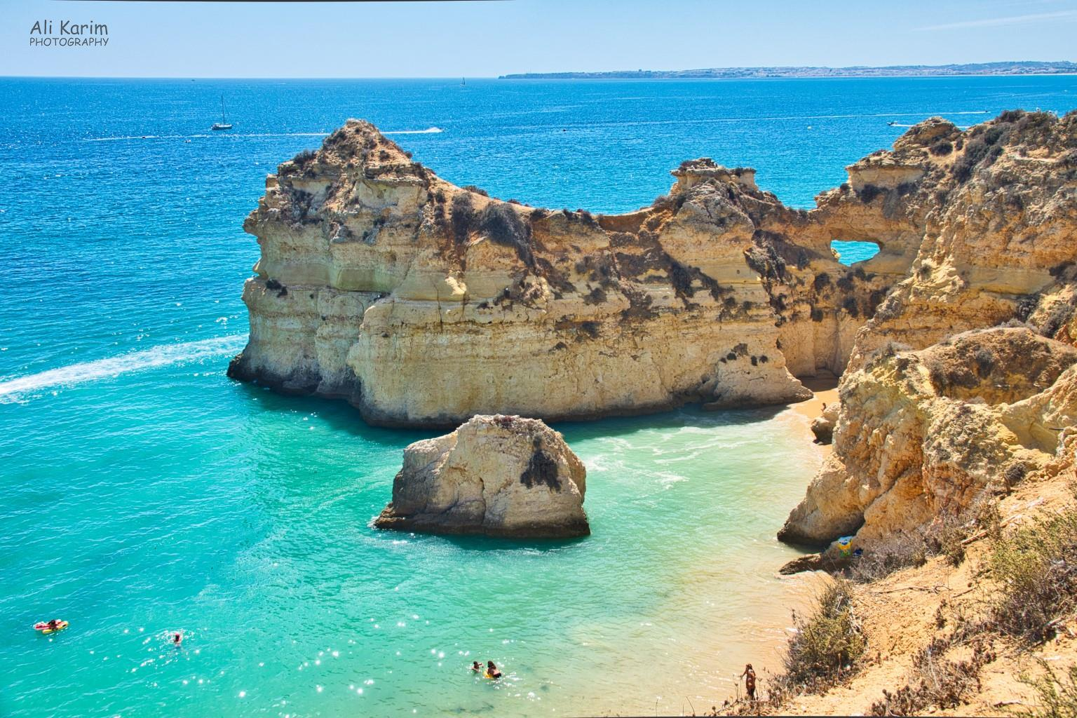Algarve, Portugal Beautiful cliffs all around