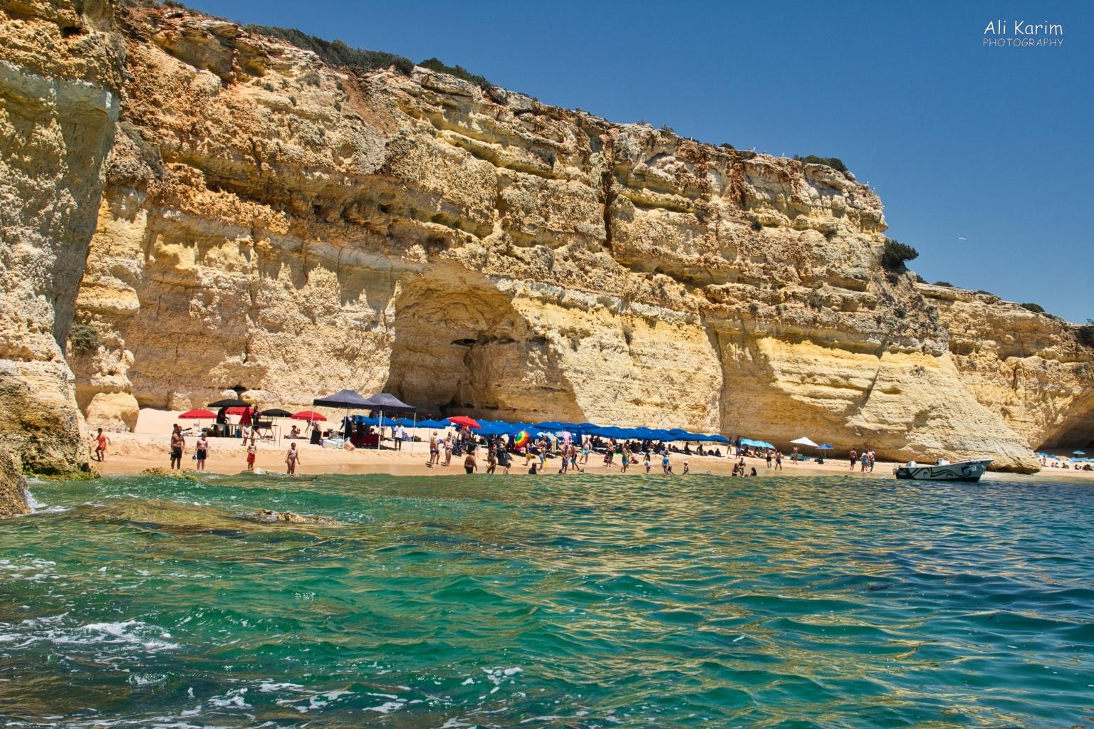 Algarve, Portugal Remote beaches and coastal cliffs