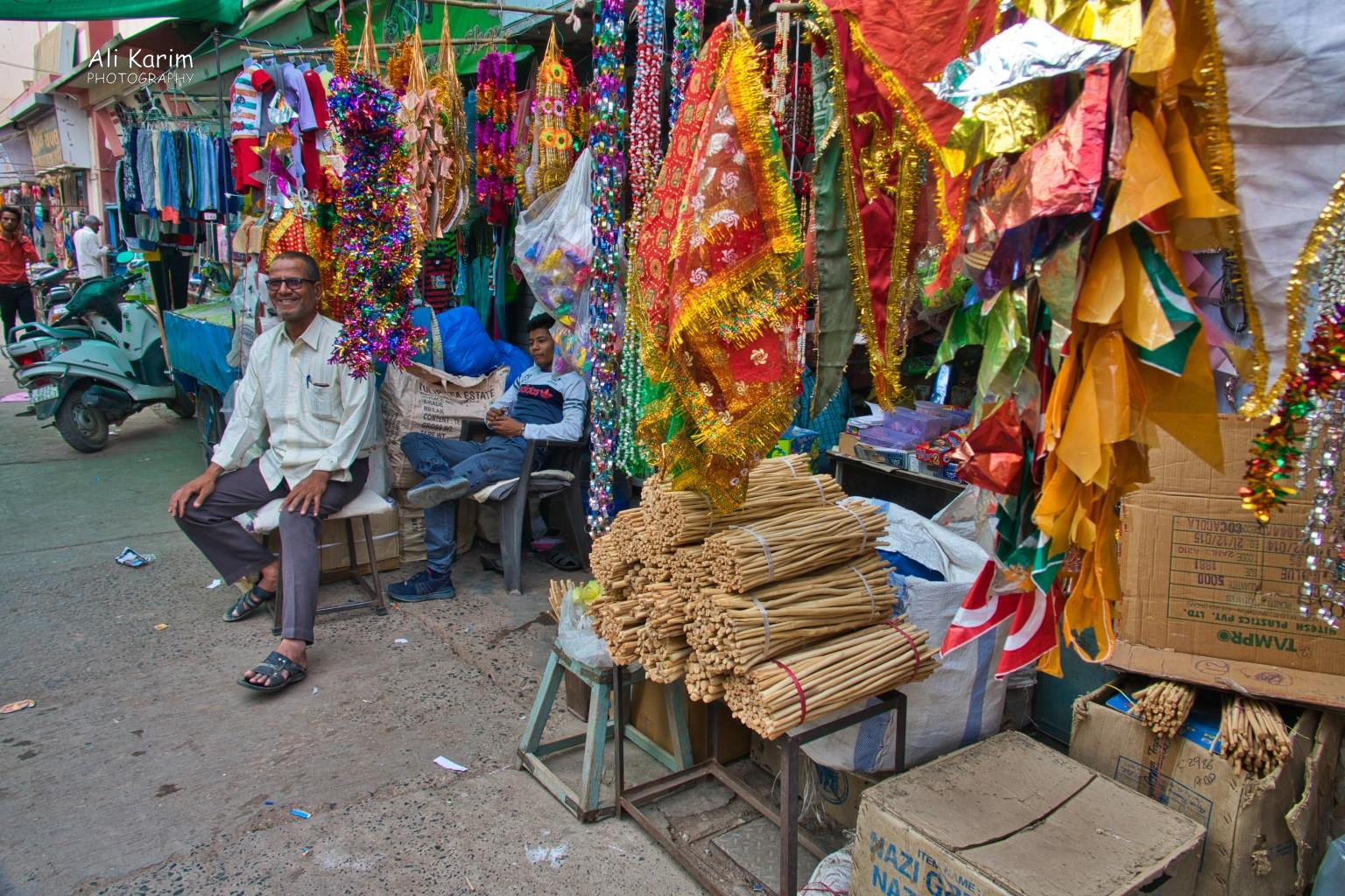 More Bhuj Everything for sale, including the sticks (foreground) that are used as toothbrushes