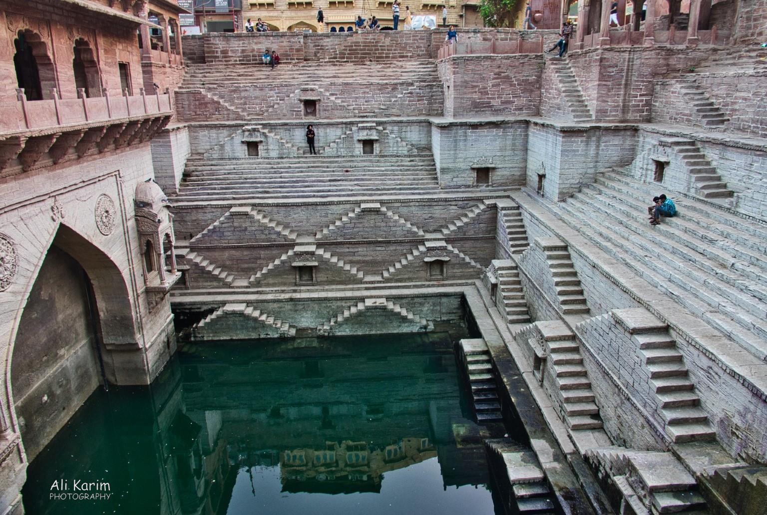 Jodhpur, Rajasthan Toorji stepwell