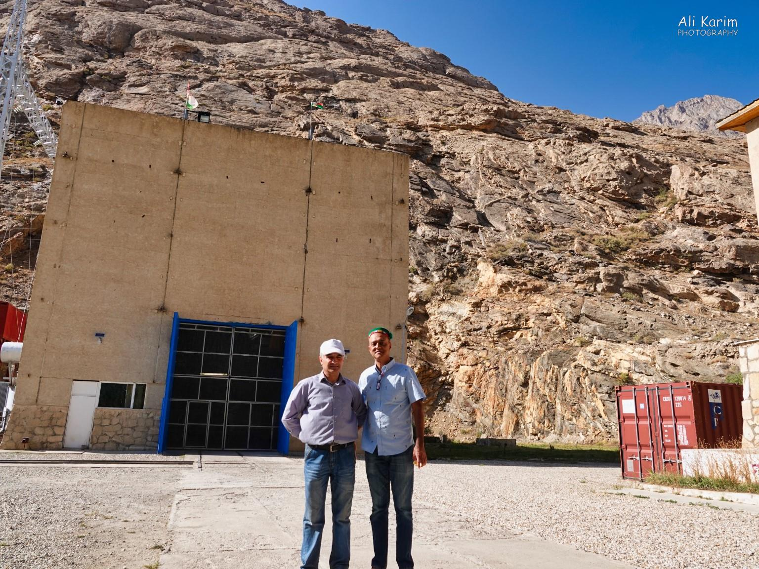 More Khorog, Tajikistan With the Chief Engineer outside the generators building