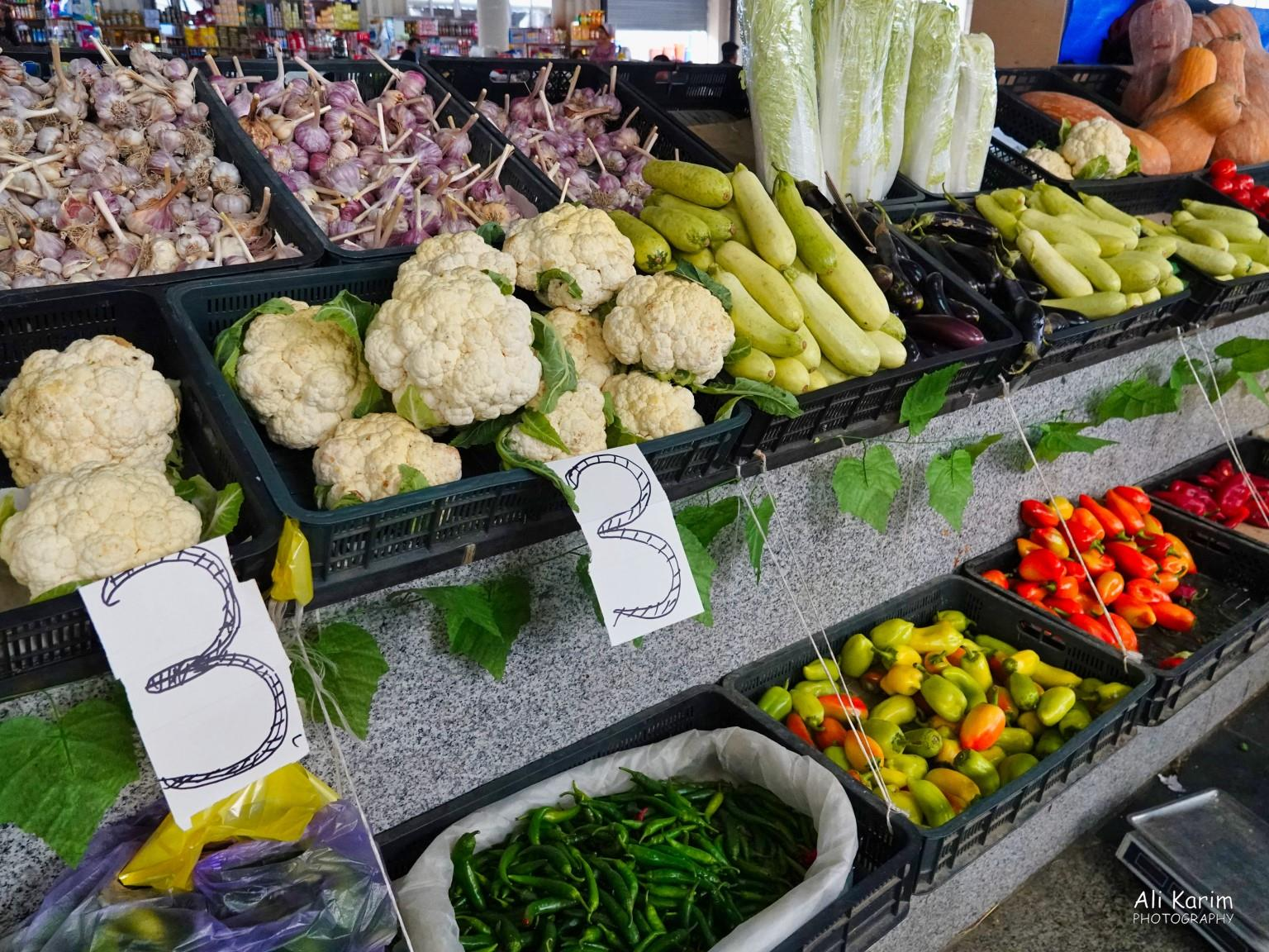 More Dushanbe, Tajikistan Many different kinds of vegetables