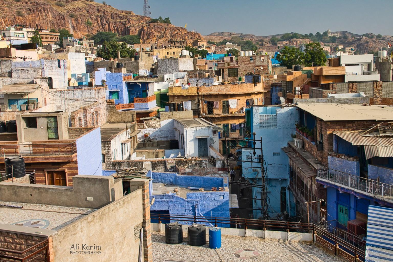 Jodhpur, Rajasthan View of the busy old city