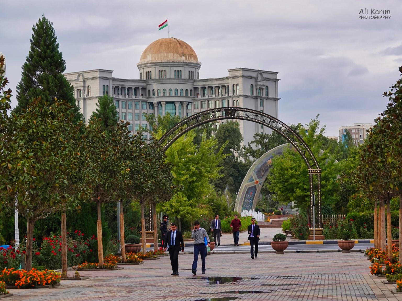 More Dushanbe, Tajikistan Locals enjoying the beautiful parks all over the city center