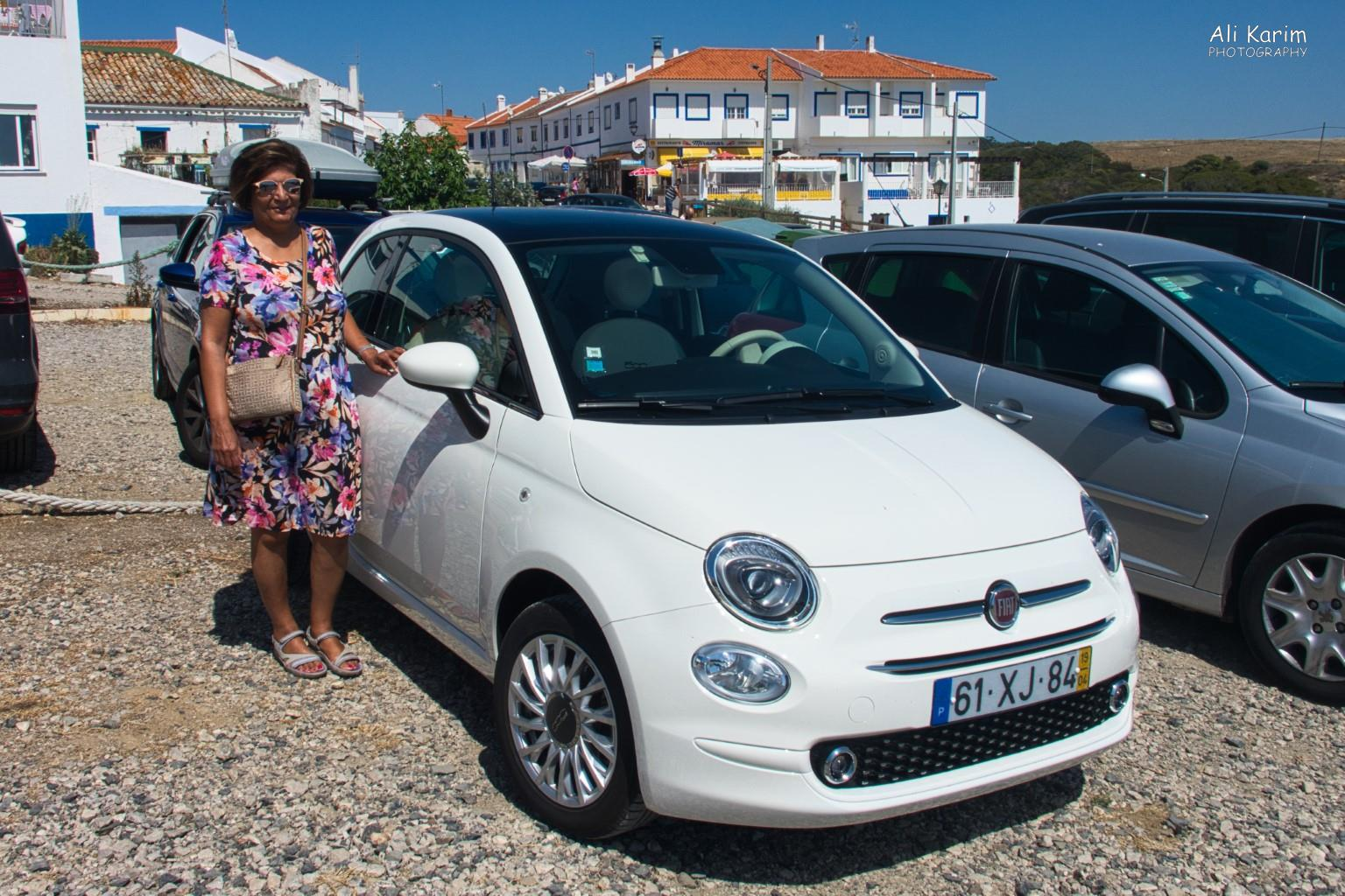 Algarve, Portugal Younger model Fiat 500