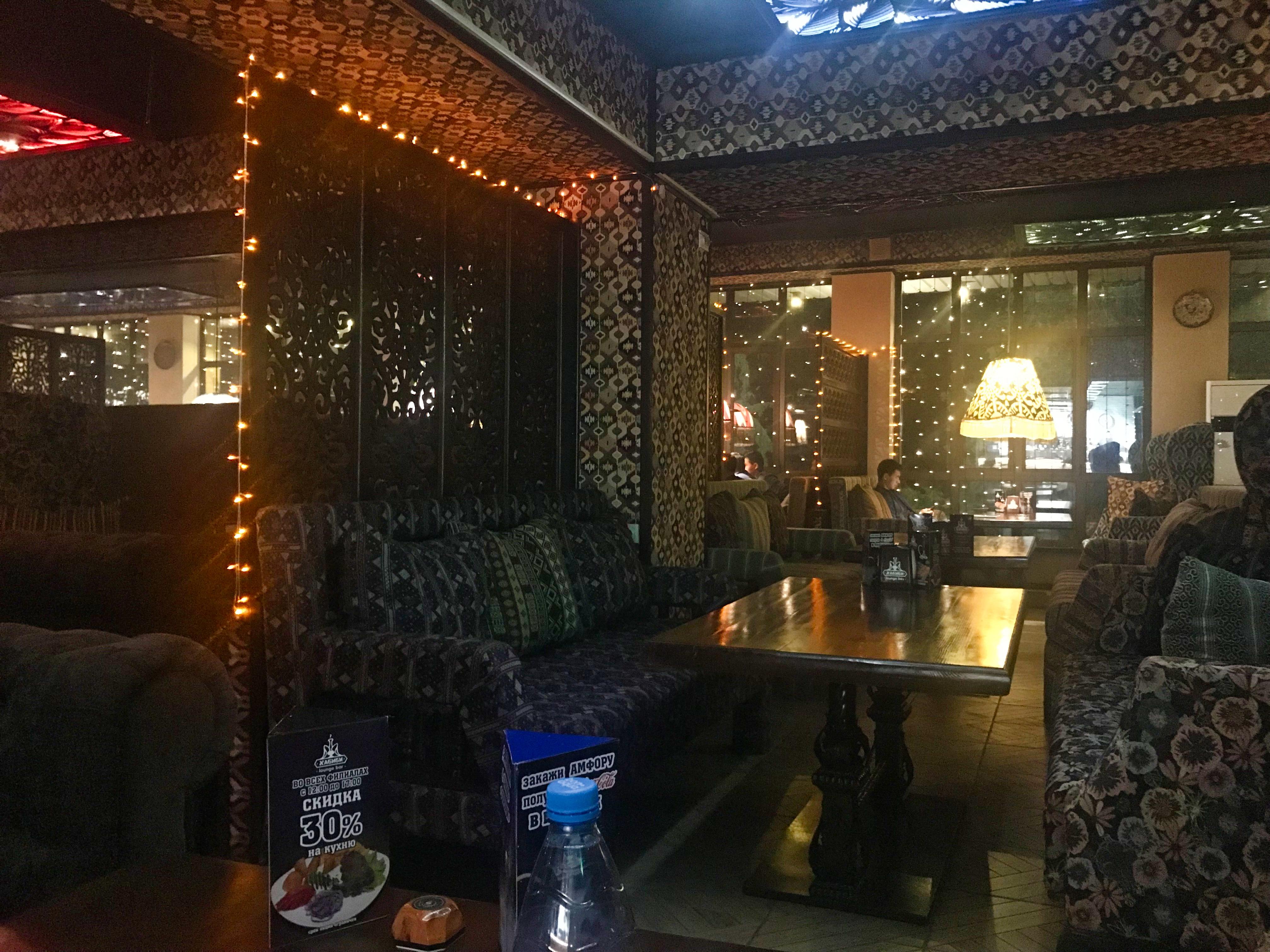 Silk Road 14 Bishkek Habibi Restaurant