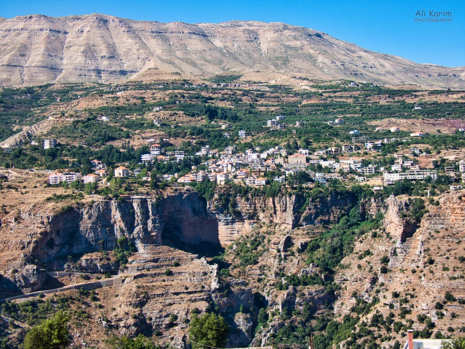 Bsharri and Quadisha Valley Steep cliffs and deep valleys