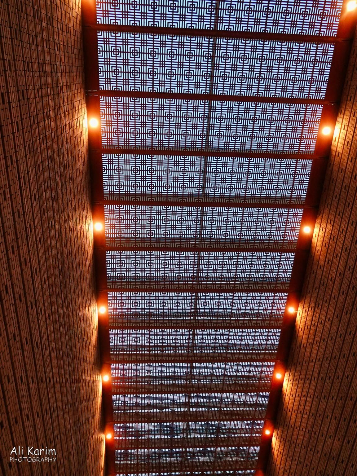 Dushanbe, Tajikistan Interesting ceiling design