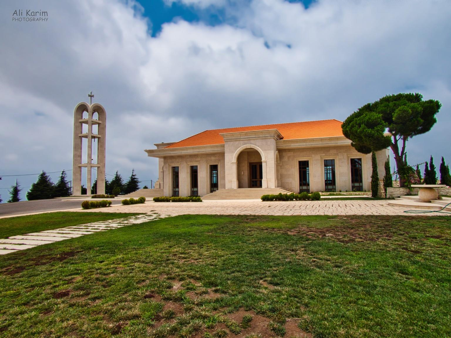 Beirut to Tripoli Mar Mema church in Bentael