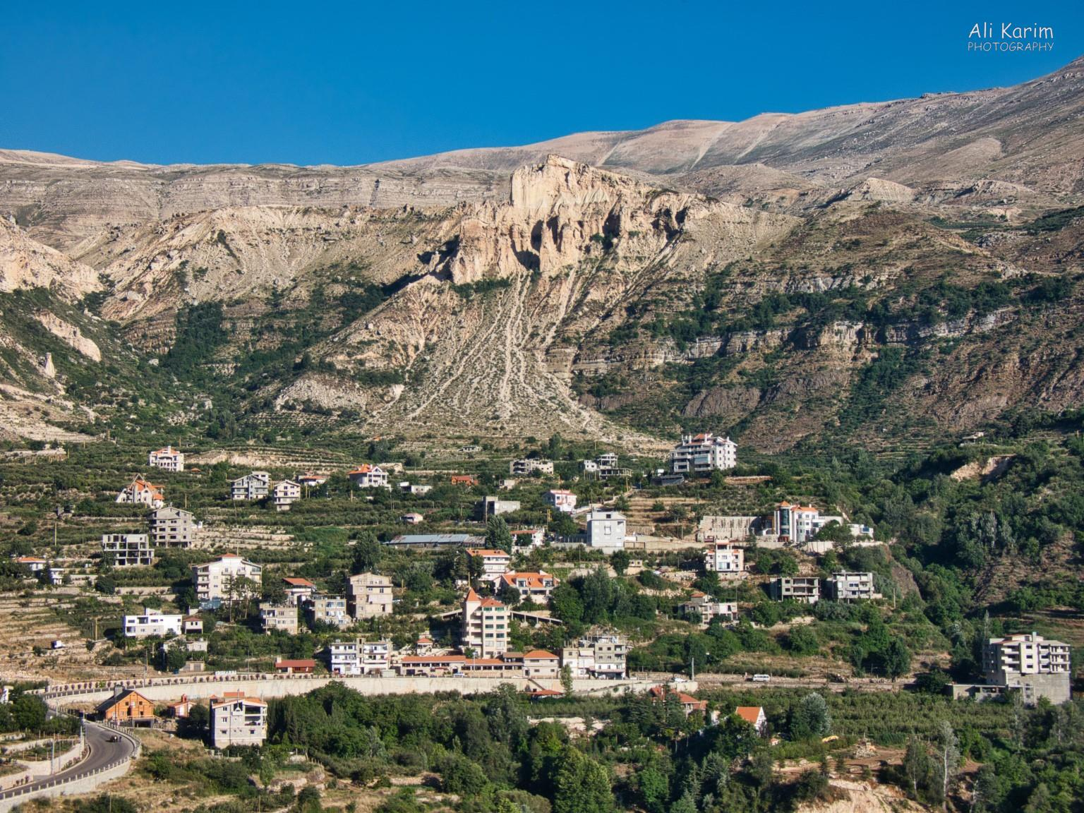 Bsharri and Quadisha Valley Multiple small communities along the way, on the mountainside