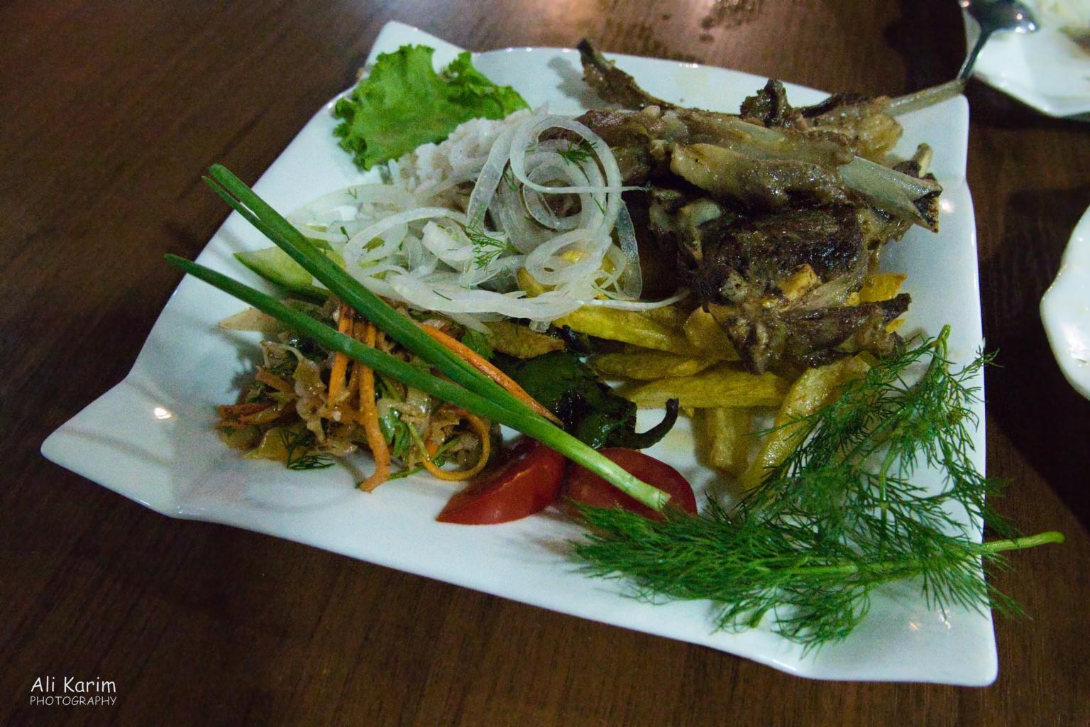 Silk Road 15: Osh, Kyrgyzstan Lamb chops dish
