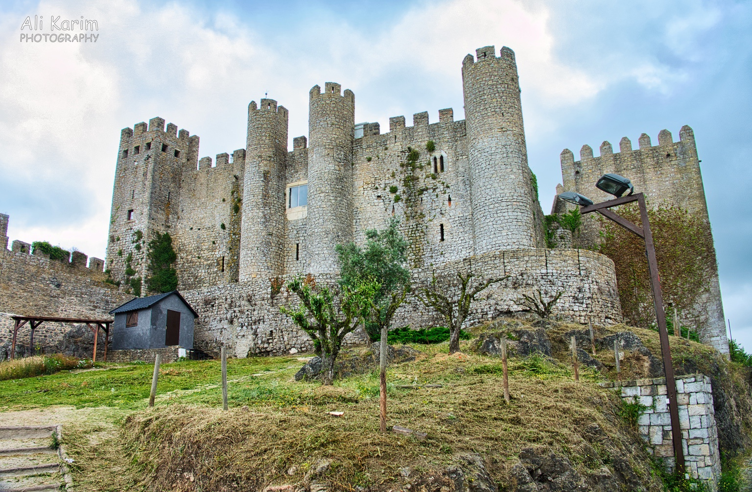 West of Lisbon Seems like a well preserved castle in Obidos, but we could not find any entry point