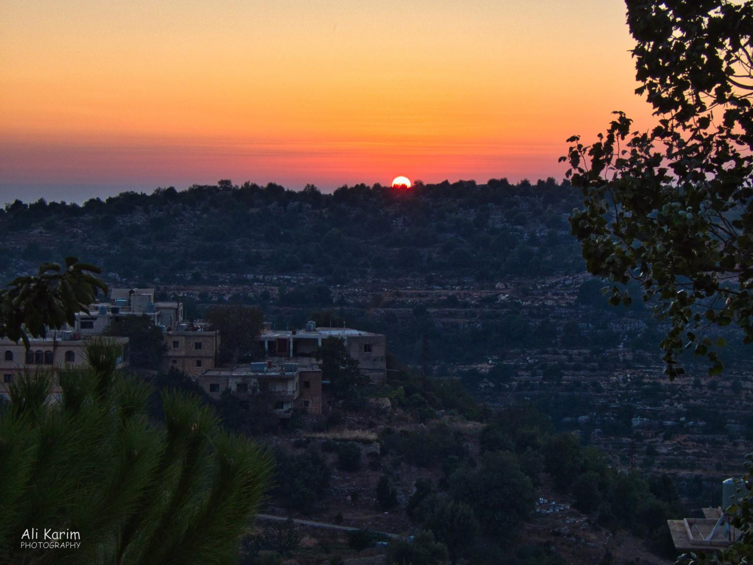 Bekaa Valley Winery, Chouf Mountains & the Druze Sunset in Msreti, Chouf Mountains