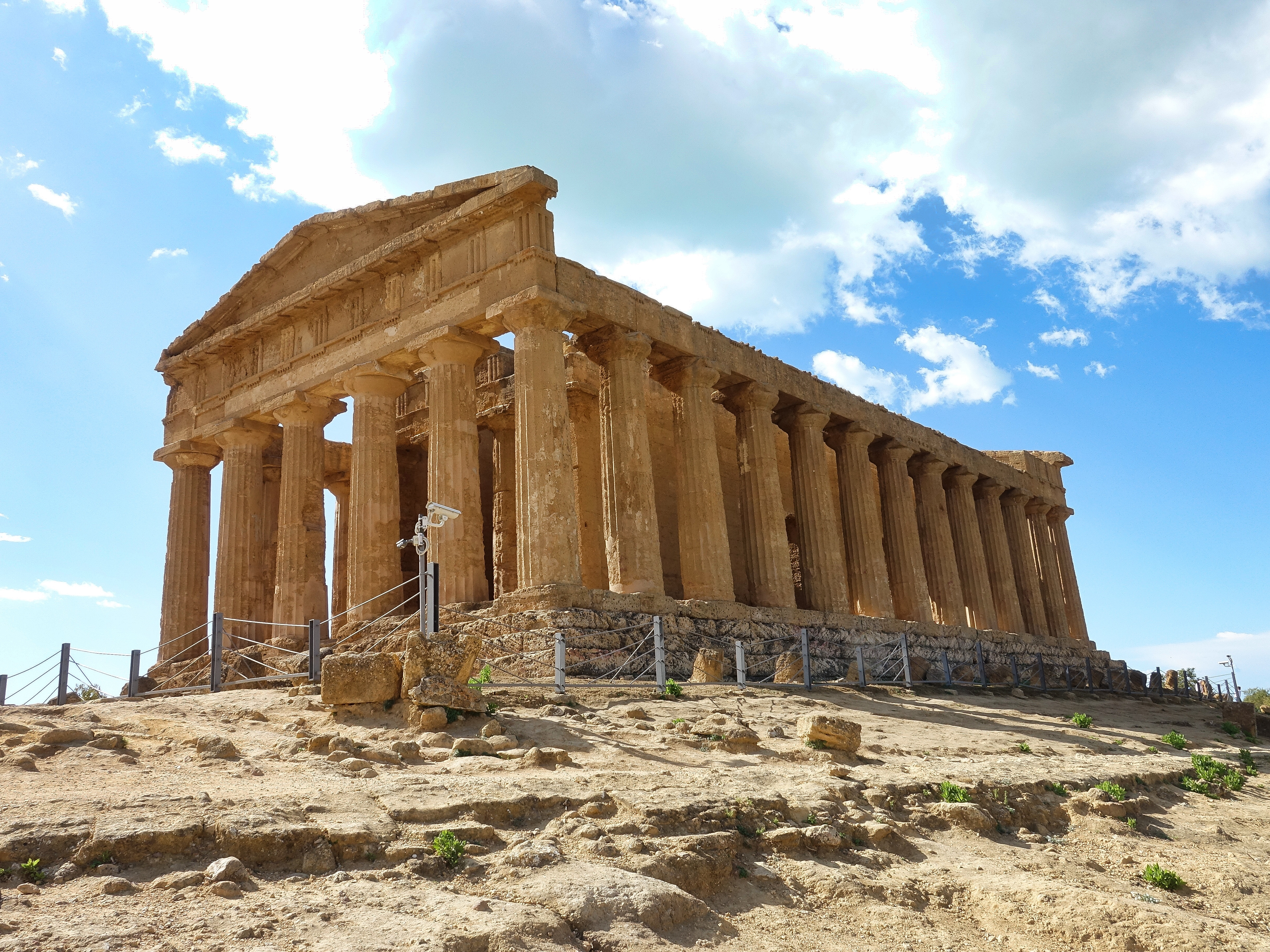 Amazingly well preserved temple of Concordia