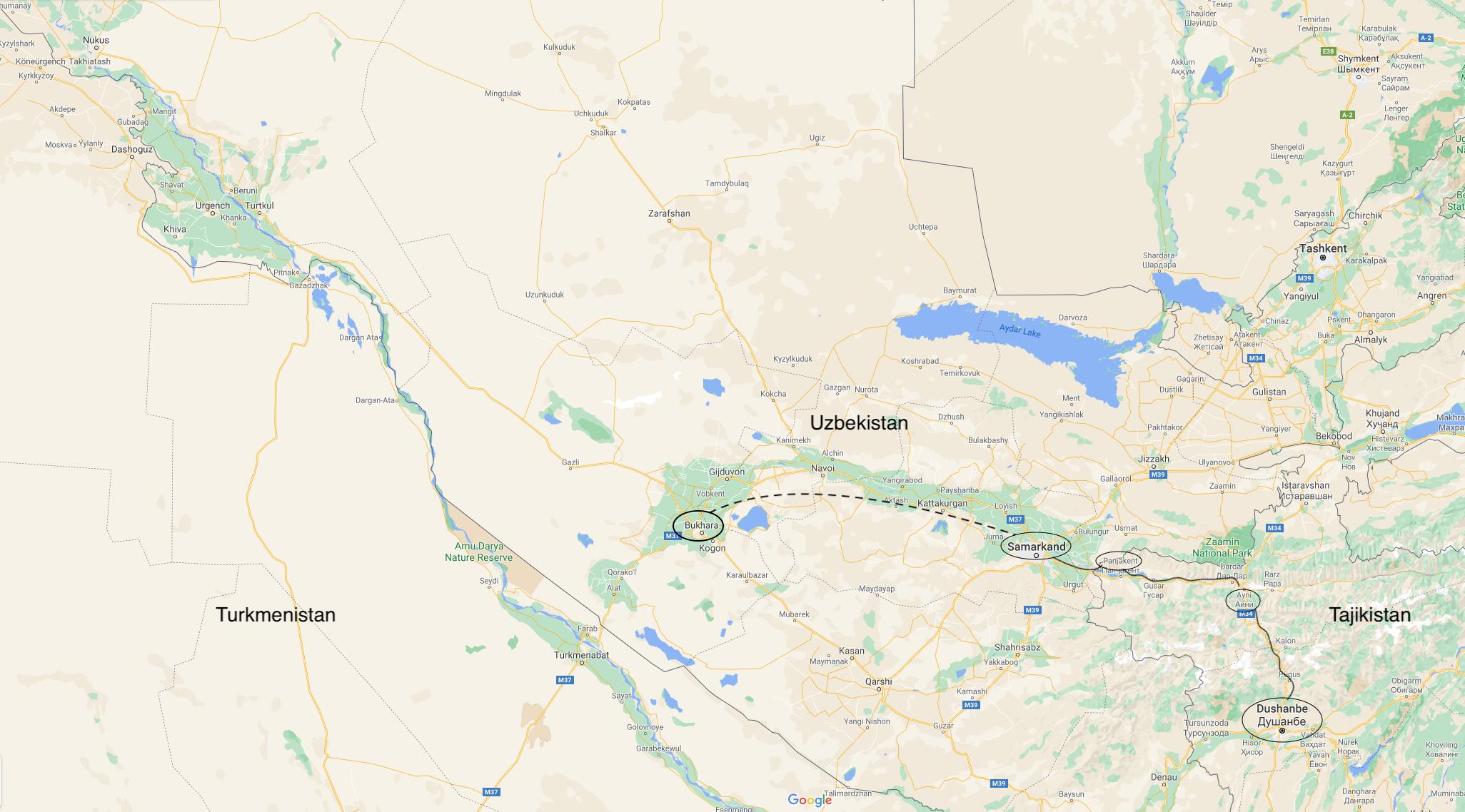 Bukhara, Oct 2019, Dushanbe to Bukhara, Uzbekistan