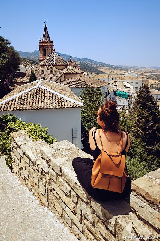 pueblos blancos de Andalucía. Zahara de la Sierra