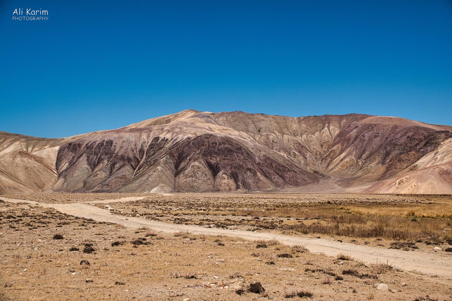 Langar, Tajikistan, Interesting eroded mountain landscape