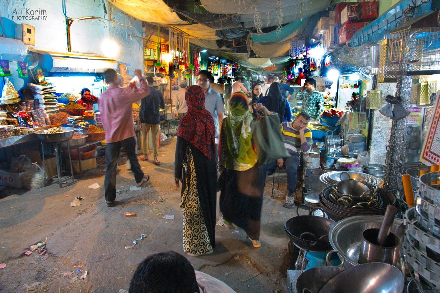 Jodhpur, Rajasthan Night scene at Sardar market