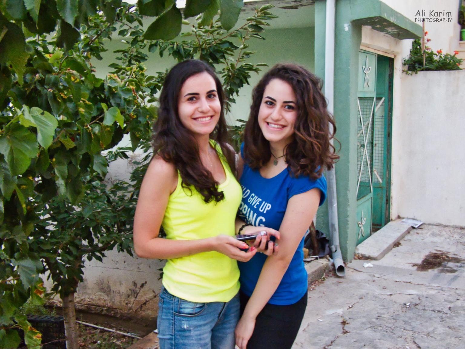 Bekaa Valley Winery, Chouf Mountains & the Druze We met these 2 beautiful sisters, who spoke good English. They were from Beirut, visiting their grandmother and were collecting berries which they shared with us. But they did not have much understanding of the Druze faith, when questioned.