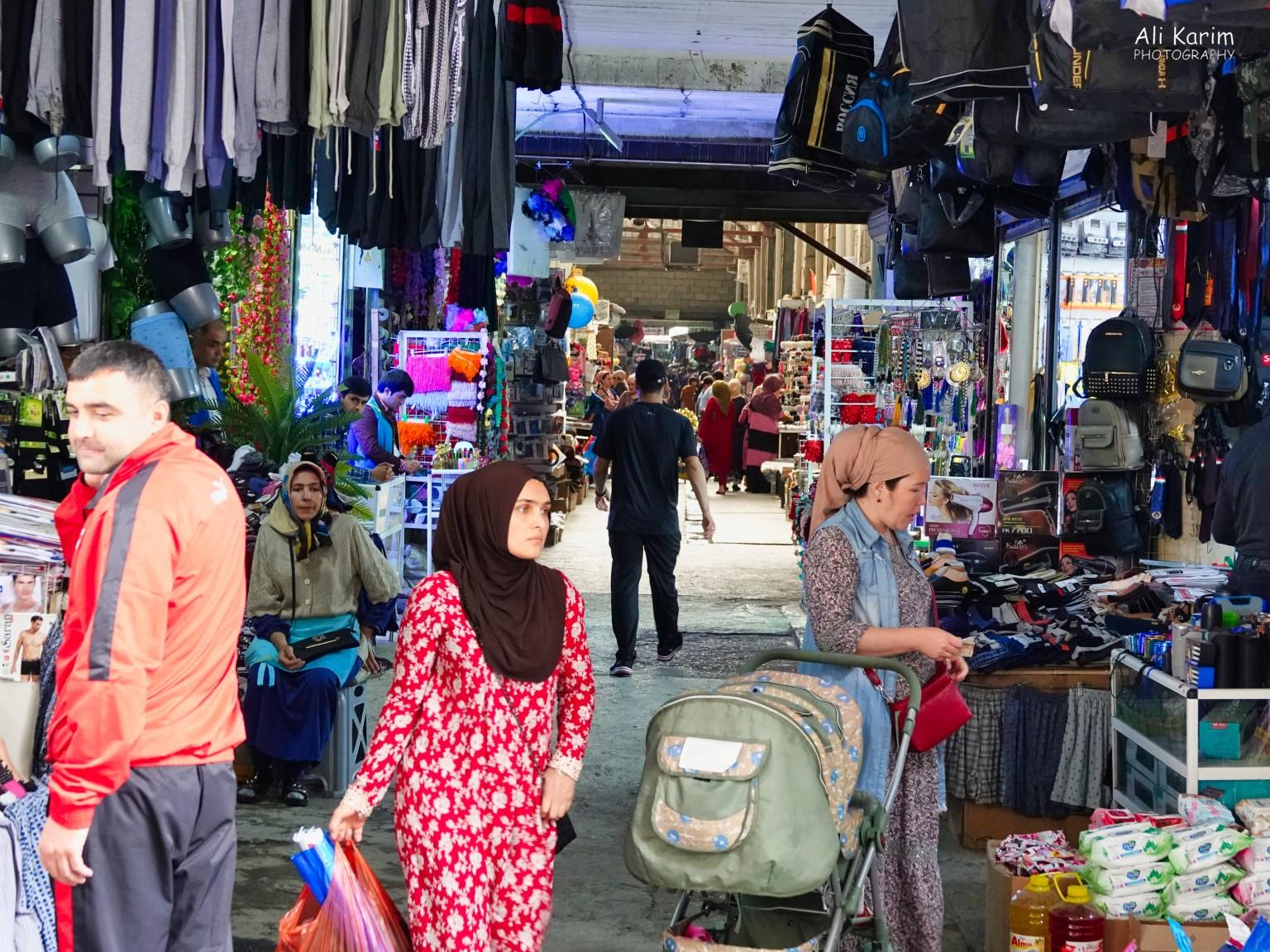 More Dushanbe, Tajikistan Many small shops selling clothing etc