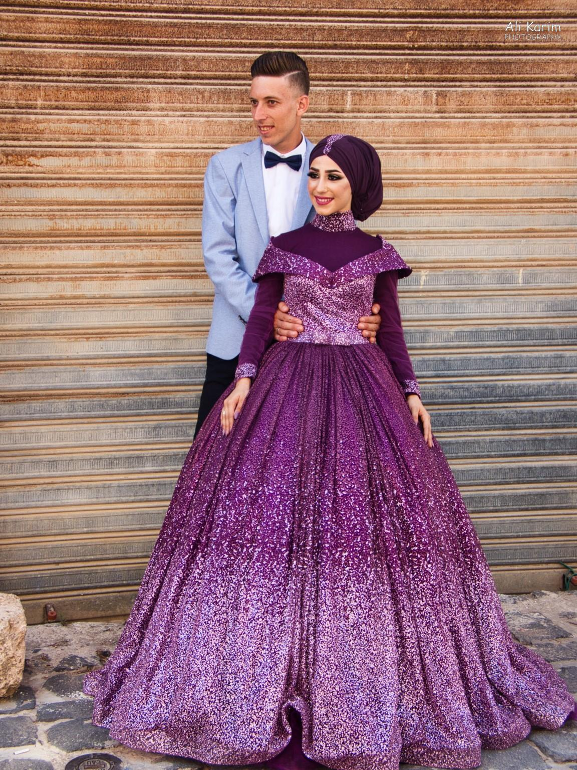 Beirut to Tripoli About to be married couple, getting pictures out of the way; I love her outfit and colors