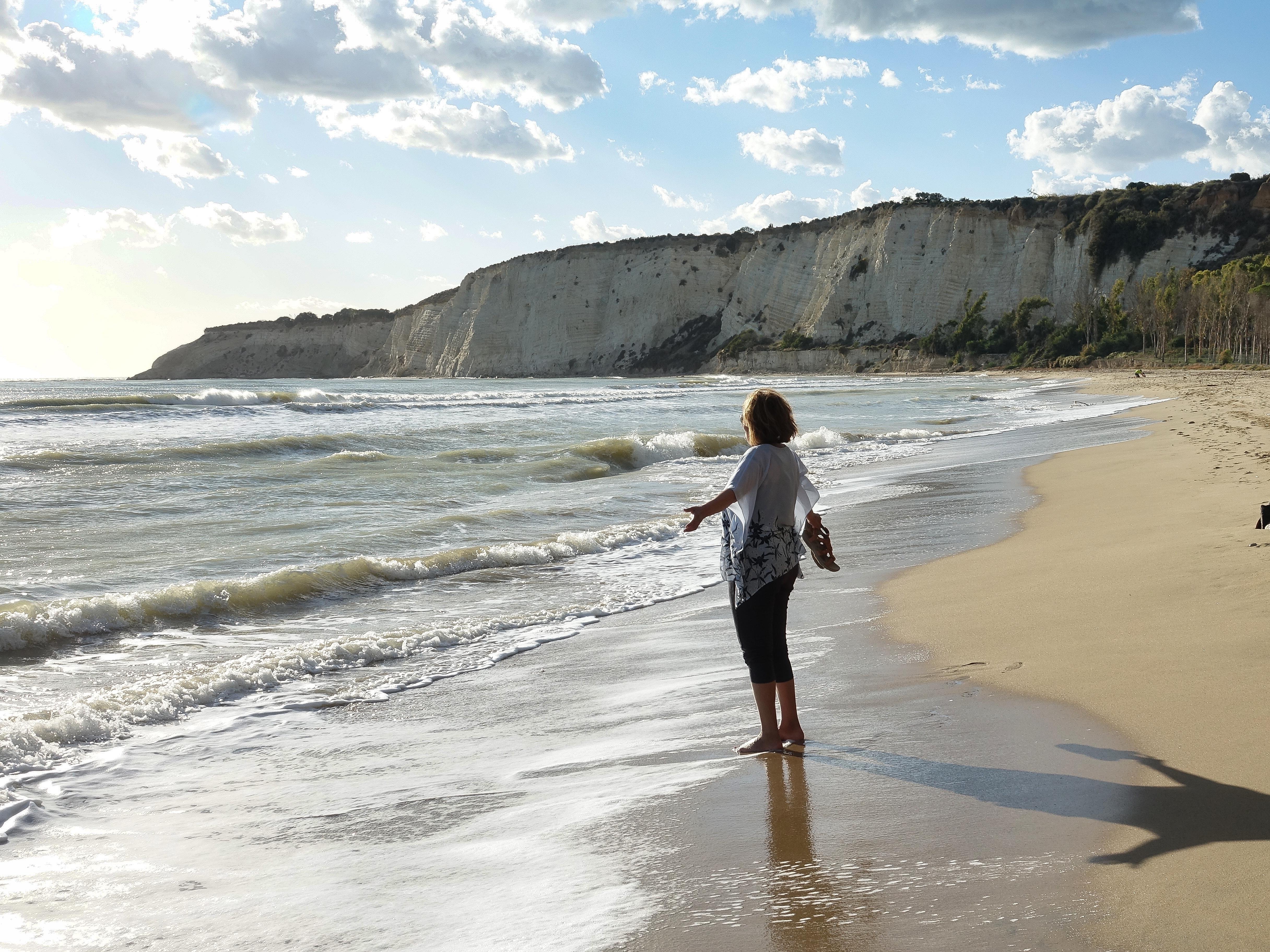 Eraclea Minoa beach scene
