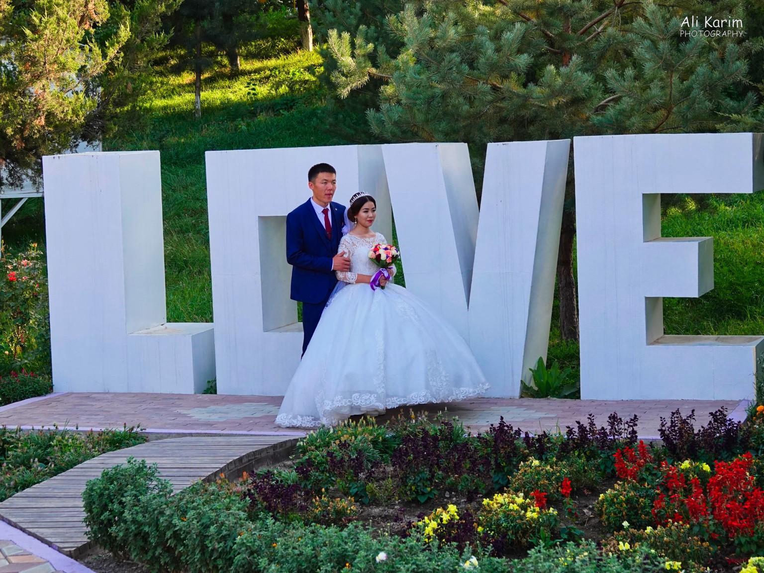 Silk Road 15: Osh, Kyrgyzstan Another wedding couple