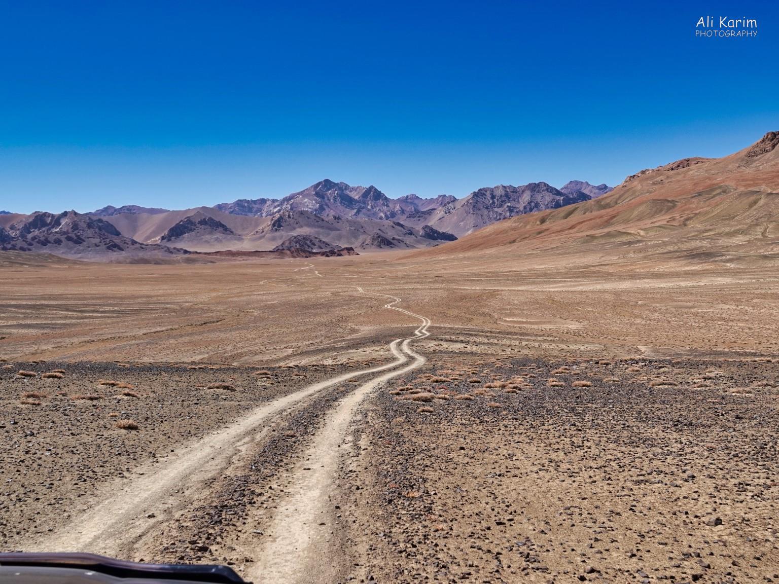 More Murghab & Alichur, Tajikistan, Our road from Shorbulak