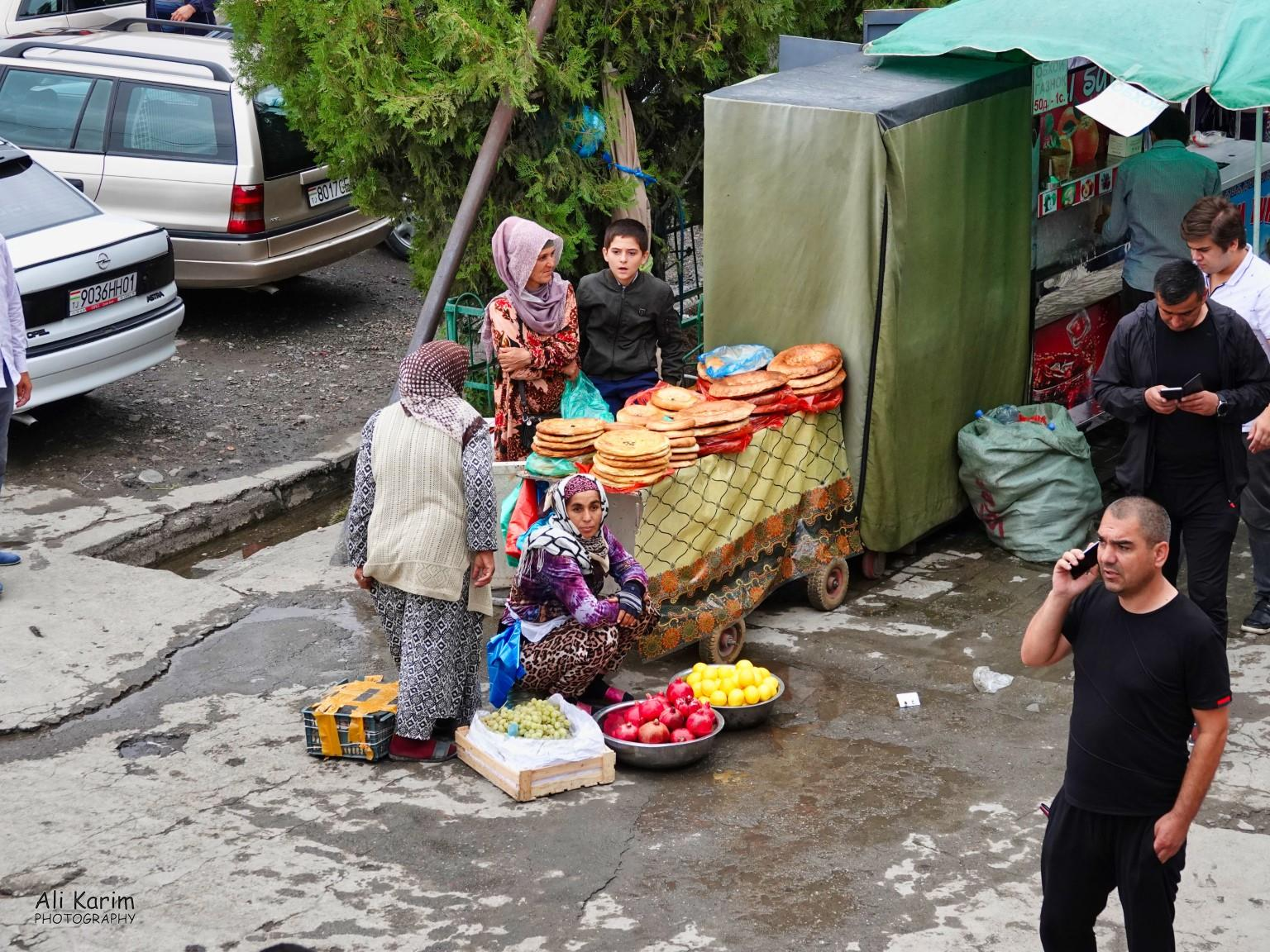 More Dushanbe, Tajikistan Bread was available everywhere