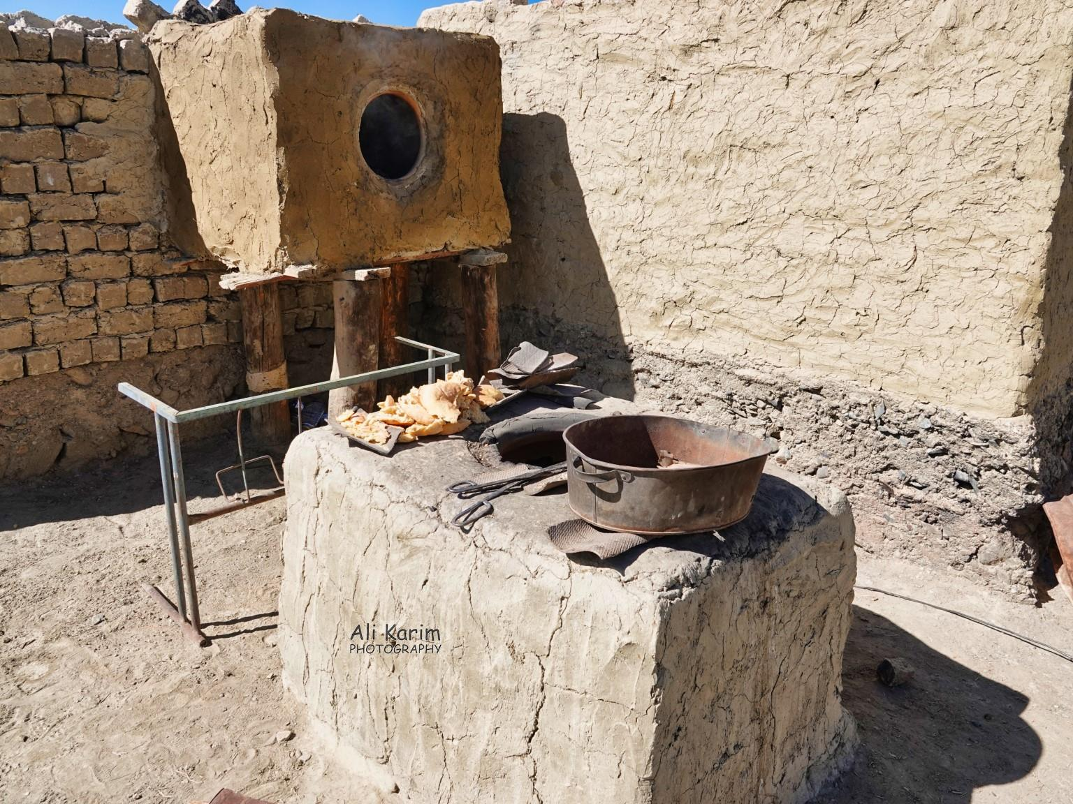 Silk Road 18: Murghab, Tajikistan Outdoor tandoor where bread is baked