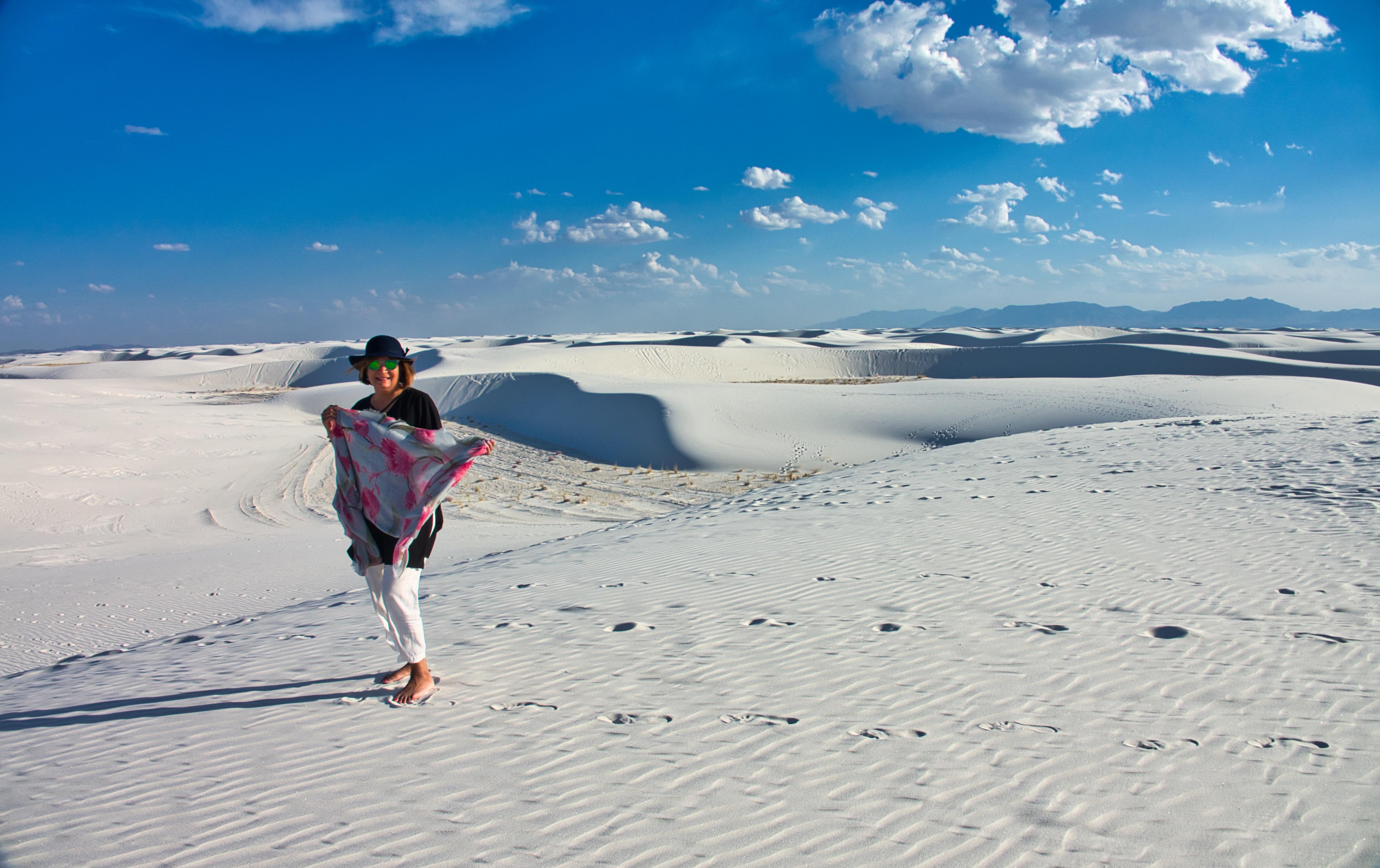 Vast Gypsum dunes