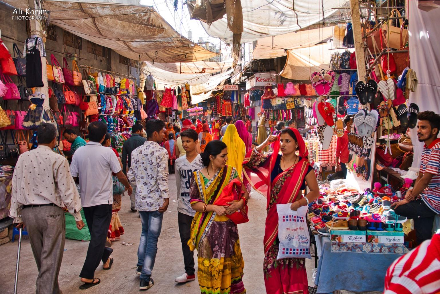 Bikaner, Rajasthan Very busy Bazaar just inside the walls of the old city; we went here several times to shop for wedding clothes