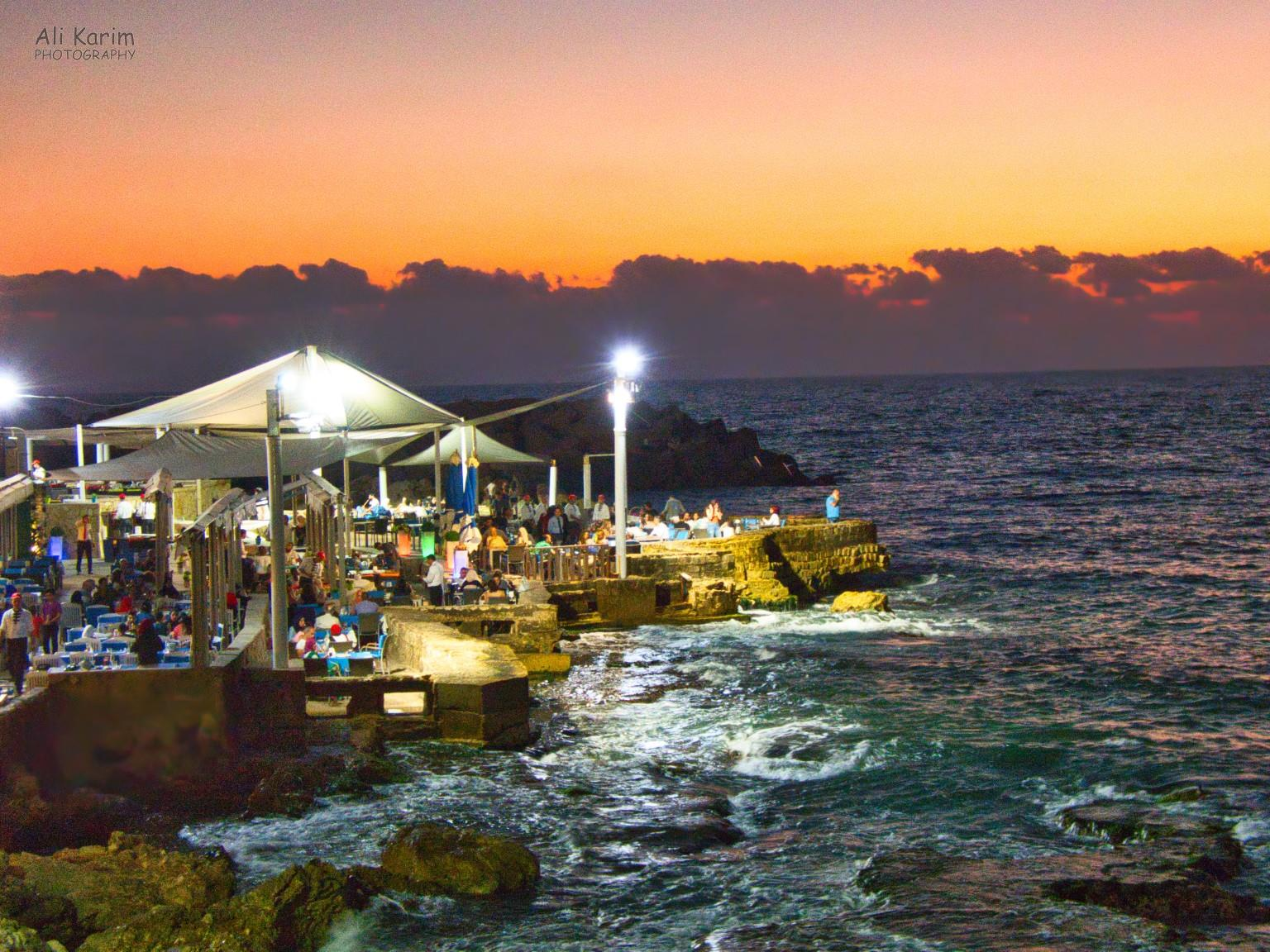 Beirut Seaside dining