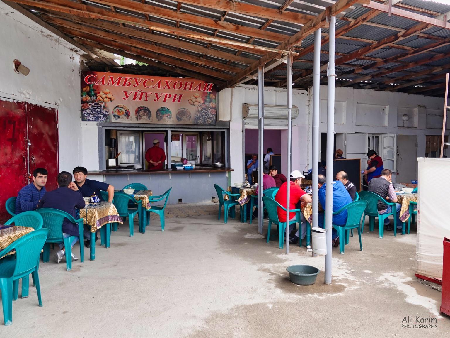 More Dushanbe, Tajikistan Nice, simple and clean restaurants in Korvon market