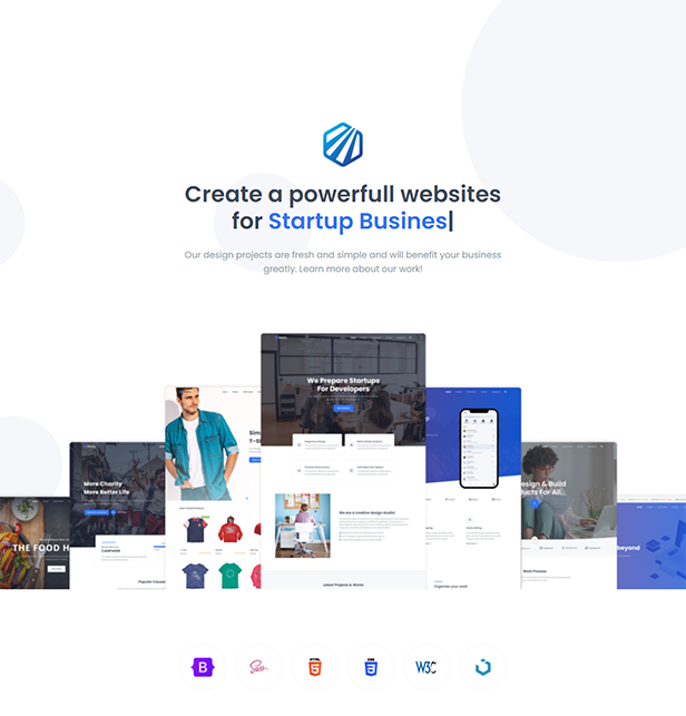 Starty - Bootstrap 5 Multipurpose Template - 1