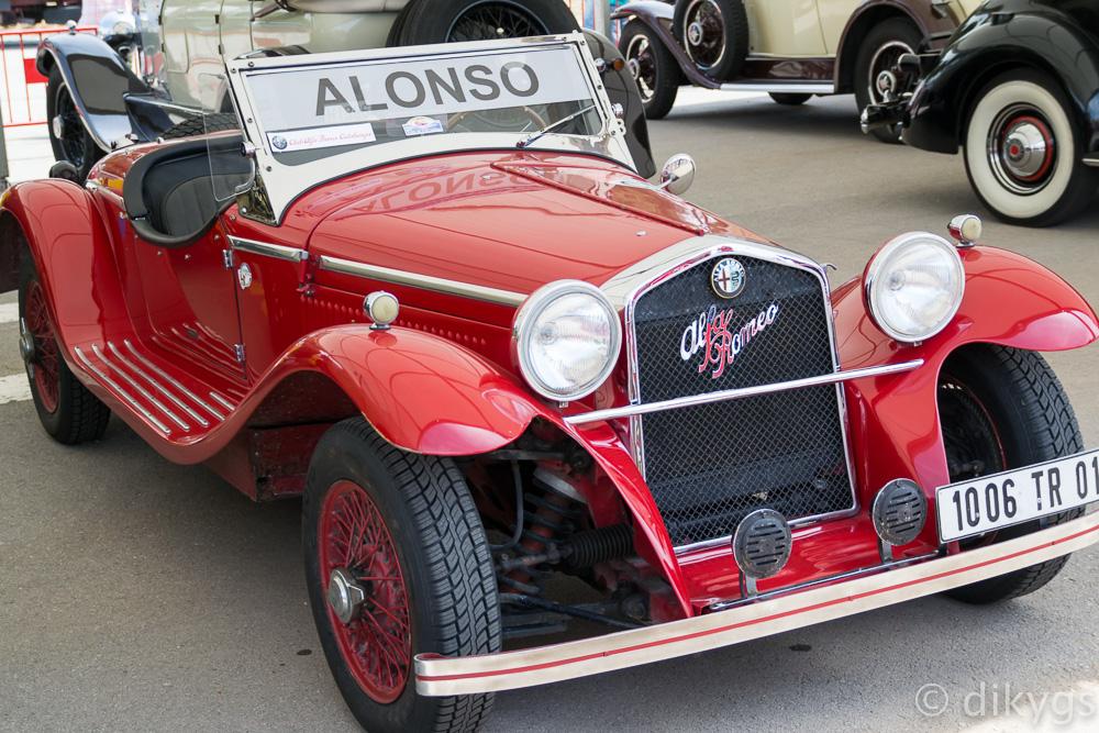 Alfa Romeo antiguo