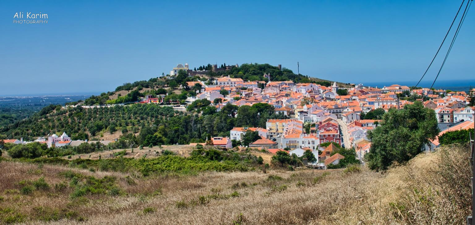 Algarve, Portugal Santiago do Cacém, cute village on a hilltop not far from the Atlantic ocean